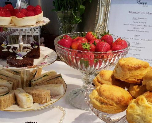 Vintage cream tea hire