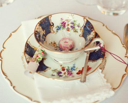 Vintage tea cup hire