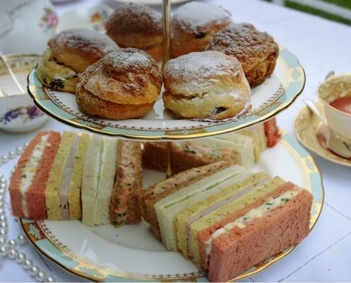 Vintage afternoon tea hire