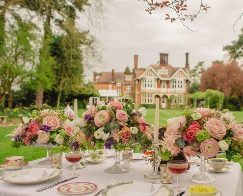 Essex country garden wedding