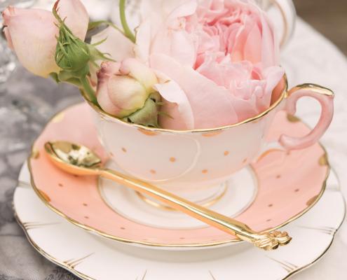 Vintage tea cup hire London