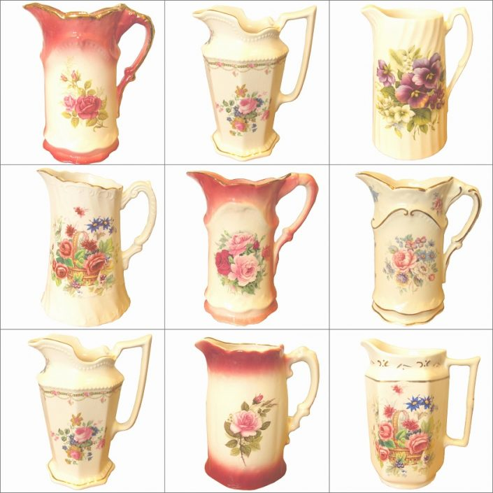 Vintage Jugs Hire Collection