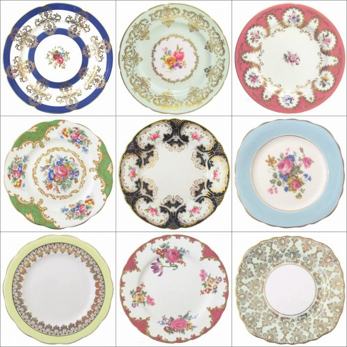 Vintage Plate Hire Collection