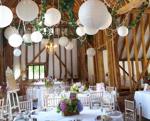 vintage afternoon tea wedding reception Essex