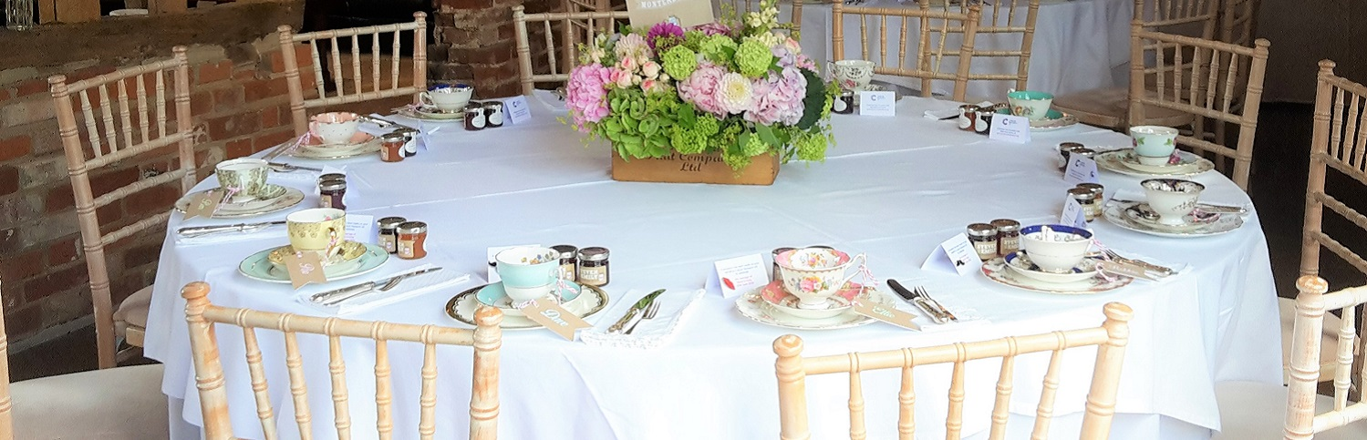 Vintage China Hire Surrey