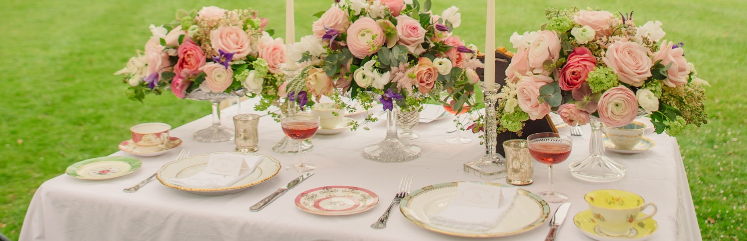 Vintage crockery hire Kent