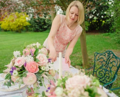 vintage wedding styling service Kent