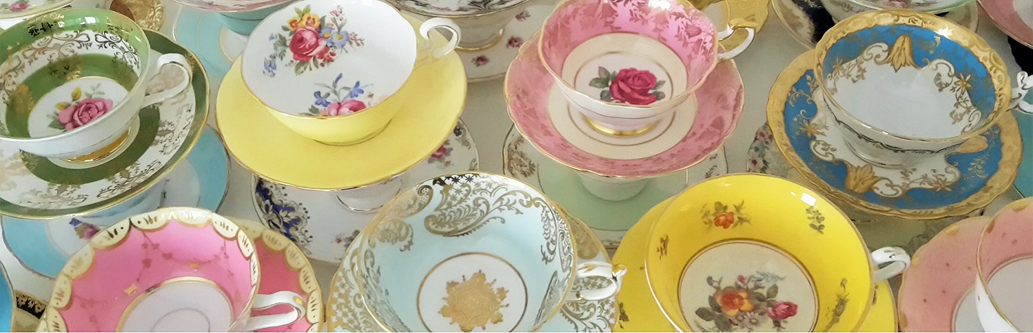 Vintage Teacup hire Surrey