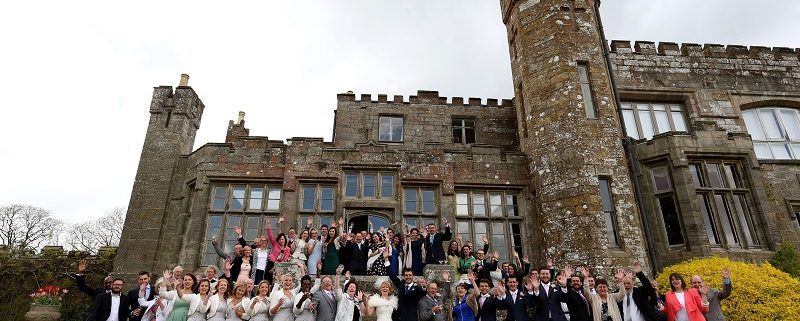 Wadhurst castle vintage wedding