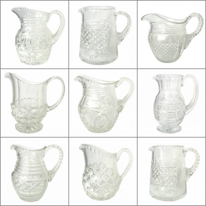 Vintage Glass Jugs