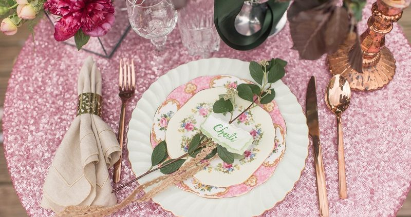 Vintage plate hire Sussex