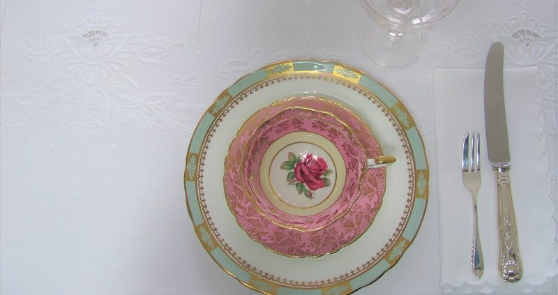 Vintage crockery hire London