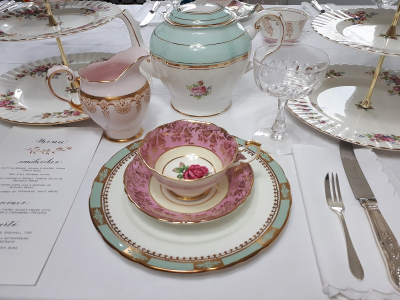 Vintage Crockery Hire Surrey