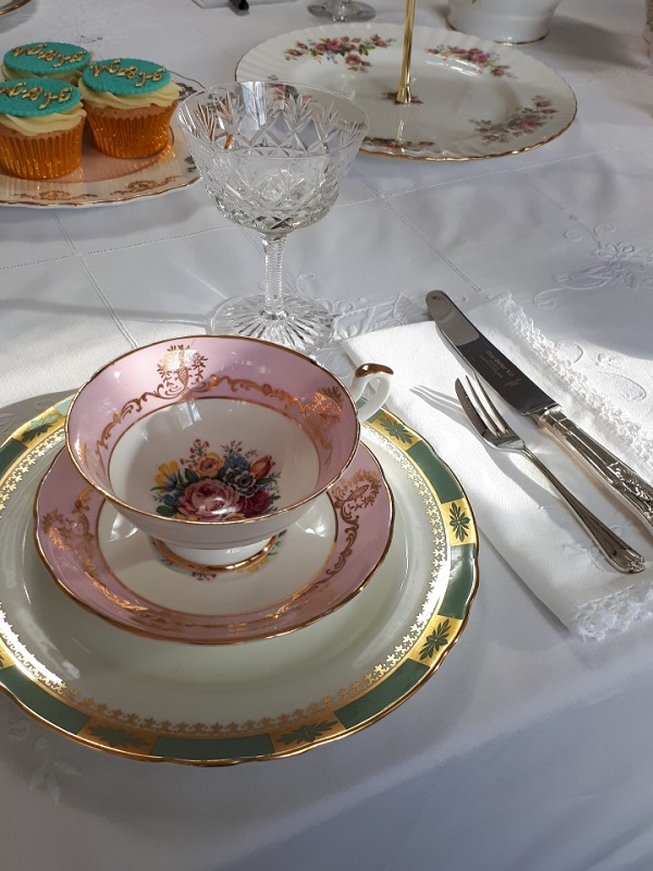 Vintage High Tea hire Surrey