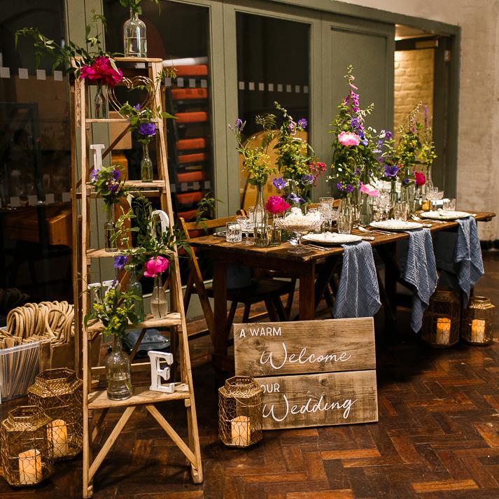 Bohotanical floral design and prop hire