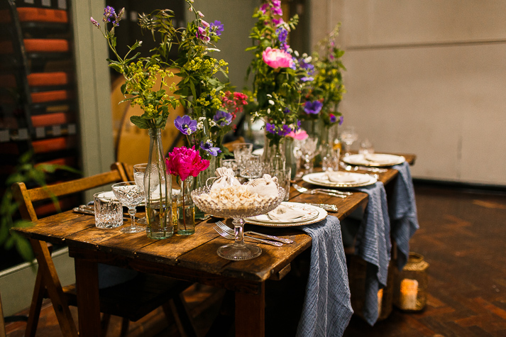 Hire Love wooden table hire Kent