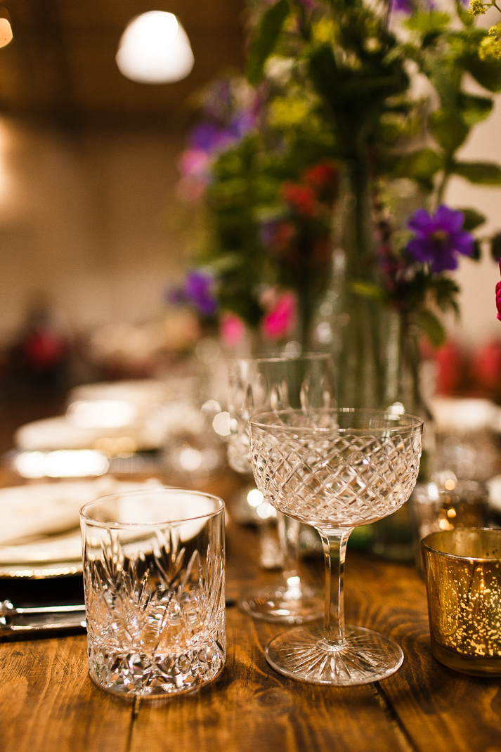 Vintage glass hire in Sussex, Kent and London