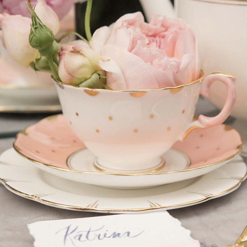 Vintage Afternoon tea hire for East Grinstead, Sussex