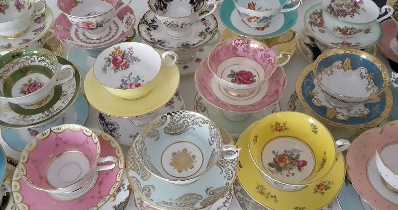 Vintage tea cup hire Sussex