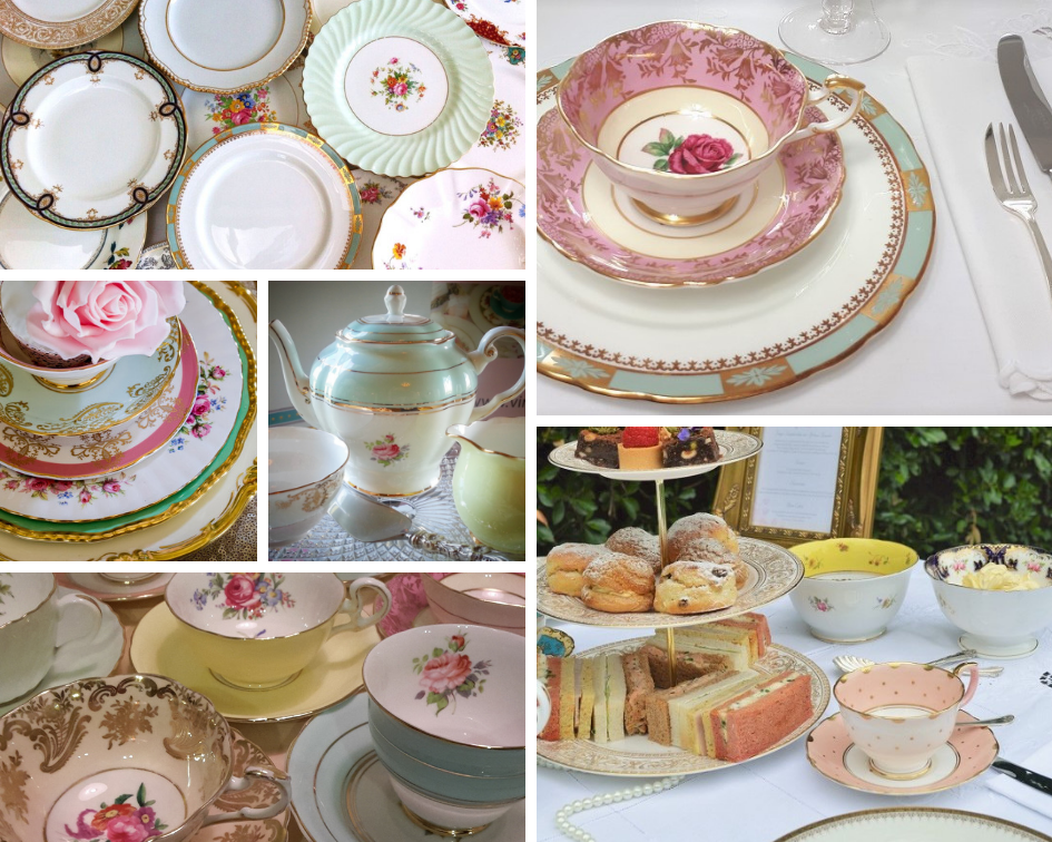 Afternoon Tea Crockery Hire in Sussex